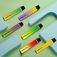 Glamee Xtra 일회용 vape 펜 키트 1800 퍼프 1200mAh 5.8ml 공장 공급 빠른 배송 전자 Cig 무료 DHL