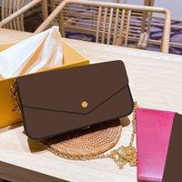 Kadın Lüks Moda Tasarımcılar Çanta 2021 Omuz Çantası Çanta Çanta Orijinal Kutu Tarihi Kod Toptan Dama Ekose Çiçek Bayan Debriyaj