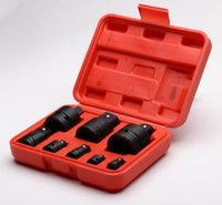 Wrench Tool Set New 8-piece Set Boxed Black Pneumatic Socket Adapter with Steel Ball Tool Organizers