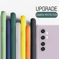 Per Xiaomi MI Nota 10 Lite 9T Pro Caso Ufficiale Liquid Liquid Custodia Soft Cover per Xiaomi Redmi Nota 9S 9 8T 8 Pro 8A 9A Coque