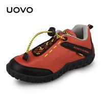 Uovo 어린이 경주 스타일 작은 소년을위한 통기성 소녀 아이 스니커즈 가을 신발 -35 LJ201202