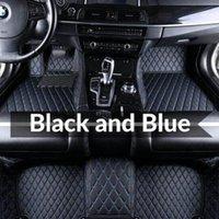 AutoCOVERS Custom Fit Carne de fond de voiture Tapis de surface spécifique Matériel écologique Eco Cuir de PU pour SUV Camion Full Set Tapis de voiture 015