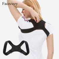 Correção de postura Correção Corretor Corretor Clavícula Spine Back Ombro Lombar Brace Suporte Correia A Correção Postura Impede Slouching