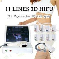 2020 Nuevo tipo 3D HIFU Máquinas de ultrasonido de alta intensidad enfocada HIFU Piel de apriete a la terapia Cuerpo Shaper Slimming Hifu Beauty Machine # 005