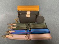 2020 Bolsas Bolsas Bolsas Mulheres Sacos Multi Pochette Accessoires Nova Moda Feminina Pequeno Duffle Bag Ombro Cadeia Crossbody Bag Famoso