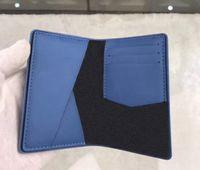 Hot novo Melhor Qualidade Genuinel Leather Mens Curta Carteira Luxurys Designers Womens Womens Carteira Bolsa Cartão de Crédito A1