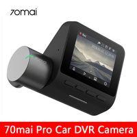 Xiaomi 70mai برو اندفاعة كاميرا الذكية سيارة dvr كاميرا 1944P اندفاعة كاميرا واي فاي للرؤية الليلية G- الاستشعار 140 زاوية واسعة السيارات مسجل فيديو cn