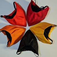 Gaga Tipi Ağız Maske Bezi Nefes Mascherin 3 Renk Siyah Earloop Mascherine Yetişkin Açık Toz Solunum Ön Windbreak 8 8SY G2