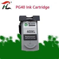 잉크 카트리지 1PCS 블랙 PG40 Canon PG 40XL PIXMA IP1600 IP1200 IP1900 MP140 MP150 MX300 MX310 MP160 Printers1 용 잉크 블랙 PG40 호환 카트리지