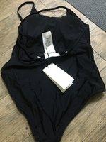 Mayo Dantel Bikini Seti Bodysuit Kadın Moda Mayo Stokta Mayo Çıplak Siyah Seksi Mayo Seksi Etiketler