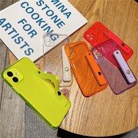 Удароженные анти-осенью чехол из флуоресцентного запястья для iPhone 11 11 Pro Max SE 8 7 6 6S PLUS XR XS MAX X Мягкая крышка