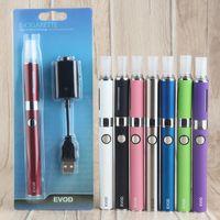 eVod Vape Pen MT3 Vaporizer أطقم السيجارة الإلكترونية Vape تأتي مع شاحن USB بطارية EVOD MT3 البخاخة السيجارة الإلكترونية 510 الأنا التدخين