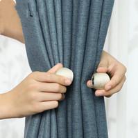 Галстуки Coakhells Магнит крепится ремешка магнитные завесы пряжка окна скрининг мяч клип держатель занавес крючки RRE120