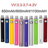 EVOD VV variable Spannungsbatterie 650mAh 900mAh 1100mAh 510 Fadenbatterie E Zigarette Vape-Stift-Verdampfer-Batterien für Ego-T MT3 CE4 CE5