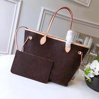 Novo Hot vendido Moda Couro Genuíno Top Quality Size Tamanho Saco de Ombro Alterar Classic Letter Mulheres Luxurys Designers Handbag Free Shipin
