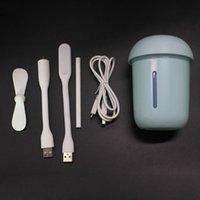 USB مصغرة المرطب مركب الهواء لتنقية الهواء مصباح الفطر المنزلية الرطبات شعبية يصل الإبداعية مع لون مختلف 23kz J1