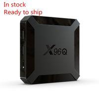 X96Q TV Box Android 10.0 Allwinner H313 2GB 16GB مربع التلفزيون الذكية رباعية النواة 2.4G
