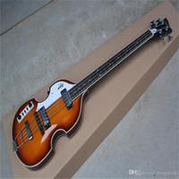 Ücretsiz Kargo En Iyi Fiyat Klasik Bazlar Sol El Nabız 1887, 4 Strings 22fret Akçaağaç Elektrik Bas Gitar