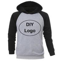 Fai da te casual elegante logo personalizzato e 2020 nuove progettisti di design Fashion Trendy Felpe con cappuccio uomo cappotto giacca abbigliamento