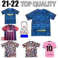 Jersey Barca 21 22 Camiseta de Futbol Ansu Fati Dest Pedri 2021 2022 Griezmann de Jong Maillots de Football Shirt