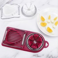3 in 1 Egg Slicer Mold Flower Edges Sectione Cutter Creative...