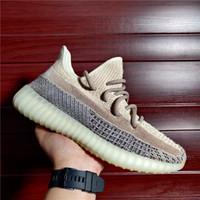 DROP LIVRAISON D'EMPLACEMENT Cendres Cendres Bleu Cendois Pearl Kanye West Running Shoes Zèbre Bred Black Non Refletin Hommes Chaussures de sport pour enfants
