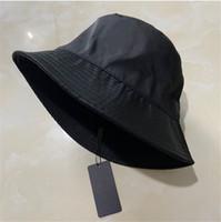 Hohe Qualität Eimer Hut Für Frauen Mode Classic Designer Frauen Nylon Hut Neue Herbst Frühling Fischer Hut Sun Caps Drop Ship