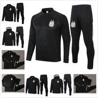 2020 2021 Argentinien Survetement Trainingsanzüge Argentinien Fußball Sets Trainingsanzug Hoodies Training Fußballjacke Set Größe S-XXL