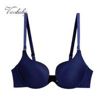 Varsbaby Sexy women deep V gather bra U-shaped Seamless solid bra Y1119