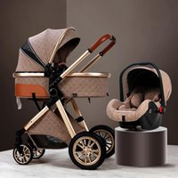 Multifunctional Baby Stroller 3 In 1 Comes With Car Seat New...