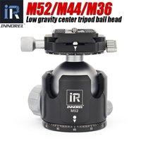 cabeça de bola INNOREL M52 / M44 / M36 vídeo panorâmica cabeça suporte novo baixo centro de gravidade tripé alumínio Ballhead carga máxima 30KG Y1117