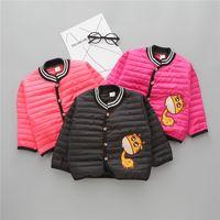 New Baby Boys Girls Ropa Winter Coat Coat Trodera para niños pequeños Chaquetas infantiles Niños Outwear Parkas Abrigo infantil 6M-4Y Y1208