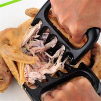 2 pezzi di carne shredder barbecue forcella orso artiglio di maiale separatore maniglia cucina cucina forcella forchetta beef slicer barbecue grill chiuffe di carne