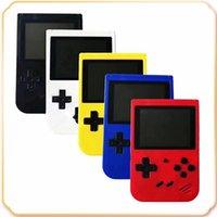 Mini El Oyun Konsolu Retro Taşınabilir Video Oyun Oyuncu 400 Oyunlar 8 Bit 3.0 Inç Renkli LCD Cradle Tasarım Stokta Mağaza Edilebilir
