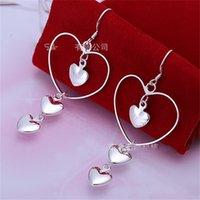 Love Heart a forma di orecchino dentagli moda lunghezza tendenza gioielli donna orecchio pendenti accessori regali di San Valentino 3 3JS K2