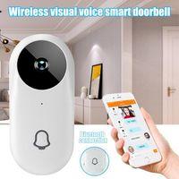 Kapı Zarlaları Akıllı Wifi Görsel Kapı Zili Görüntüleyici Geniş Açı HD Gece Görüş Güvenlik Kapı Göz SP991