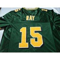 Benutzerdefinierte 123 Jugendfrauen Vintage Edmonton Eskimos # 15 Ricky Ray Football Jersey Größe S-4XL oder benutzerdefinierte Neiner Name oder Nummer Jersey