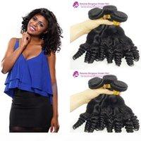 Brasilianisches Haar 3 Bundles Tante Funmi Hair Bundles Funmi Curl Natürliche Farbe Doppelt gezeichnete Jungfrau Malaysia Haar Doppel Gezeichnete Maschinenschuß