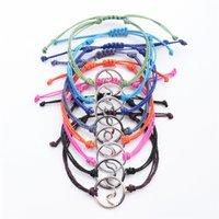 اليدوية موجة سوار للماء الفتيات الملونة مجوهرات سحر رخيصة جديلة الحبل البوهيمي خمر ستراند مضفر أساور الصداقة 215 N2