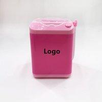 Pink mini ciglia pulita lavatrice per ciglia per ciglia elettrica powder powder puff pulfler trucco purificante fdshine