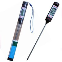 Digital Food Thermometer Stift Stil Küche BBQ Lebensmittel Fleischsonde Essinstrumente Temperatur Haushaltshermometer Kochen