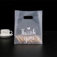 Danke Geschenk Wrap Kunststoff Verdicken Backen Packing Tasche Brot Candy Cake Food Container Taschen Heißer Verkauf 37 38GY L2