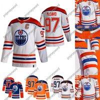 2021 Reverse Retro Connor McDavid Jersey Edmonton Oilers Duncan Keith Leon Drisaitl Zack Kassian Oscar Klefbom Adam Larsson Mikko Koskinen Mike Smith Alex Stalock