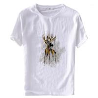2019 Suehaiwe's Italy T-shirt Marca Uomini a maniche corte Estate Mens T Shirt O-Neck T-shirt ricamata T-shirt maschio Camiseta Camisa1
