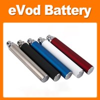 EVOD Battery 650mah 900mah 1100mah Rechargeable EVOD Electronic Cigarette Battery 510 thread eCigs Battery for MT3 CE4 CE5 Protank Atomizer