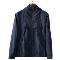 2021ss chaquetas NUEVO Primavera Autumn Capucha con capucha Medio Zip Pocket Juventud Moda Konng Gonng Estilo de ocio europeo y estadounidense Chaqueta de hombre
