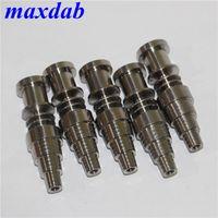 Herramientas de mano Accesorios para fumar Nails Titanium Nails GR2 Titaniums Domess Titaniums TI Sugerencia para 16mm 20mm bobina