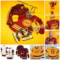 2020 Arizona State Sun Devils 1975 Collège NCAA College Hockey Jersey Connor Stuart Gvido Jansons Jacob Wilson Johnny Walker Tanner Hickey Dhooghe