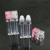 Оптовая 6.5 мл пустой рулон для липглов на бутылках бальзам для губ контейнеры для глаз крем для глаз глянцевые пробирки макияж