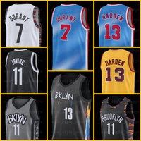 13 Harden 7 كيفن 11 Kyrie Durant Irving بروكلينشبكاتالرجال جيرسيجيمس بيجي دينوددي كلية سبنسر كرة السلة جيرسي